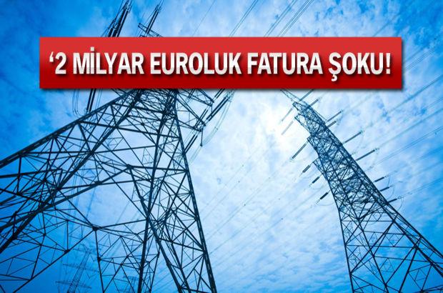 Kıbrıs Rum Elektrik İdaresi'nden KKTC'ye 2 milyar Euro fatura