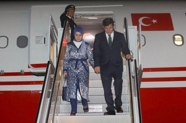 Başbakan Davutoğlu New York'a geldi