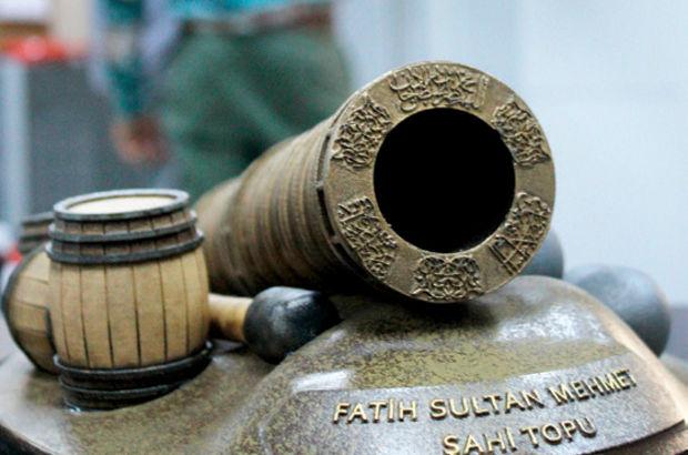 Fatih'in 'Şahi' topları 3D yöntemiyle üretildi
