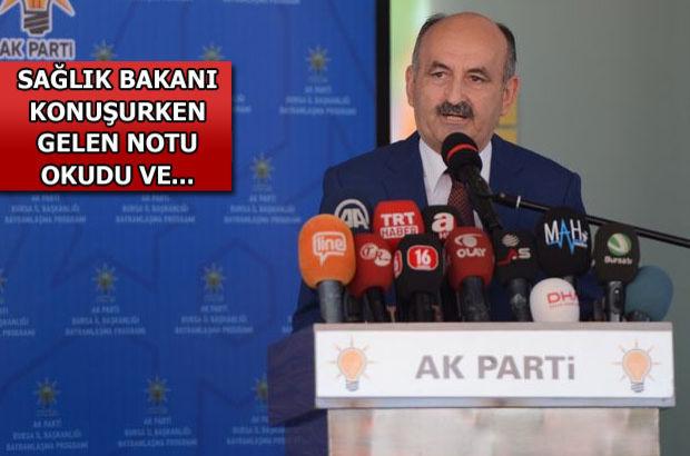 Sağlık Bakanı Mehmet Müezzinoğlu: PKK'lılar ambulans şoförümüzü şehit etti