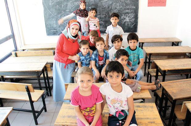Kimi klimalı sınıflarda kimi eski tekstil atölyesinde eğitim alacak