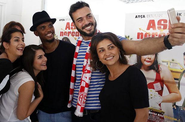 'AŞK Nerede?' ekibi Antalyaspor tesislerinde...