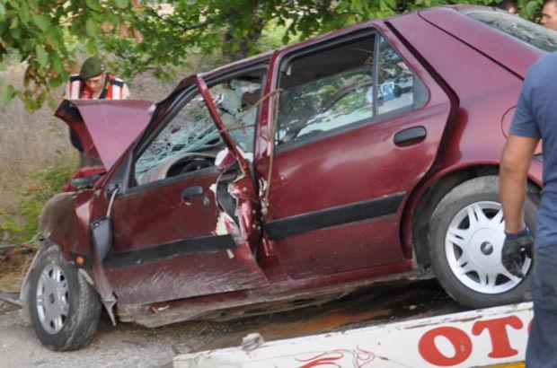 Denizli'de trafik kazası: 5 ölü, 3 yaralı