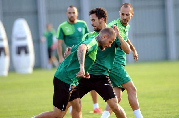 Bursaspor'da Eskişehir hazırlıkları sürüyor