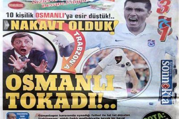 Trabzon yerel basını son 2 maçta alınan 2 yenilgi üzerine takım ve teknik direktör Şota Arveladze'yi hedef alan manşetler attı