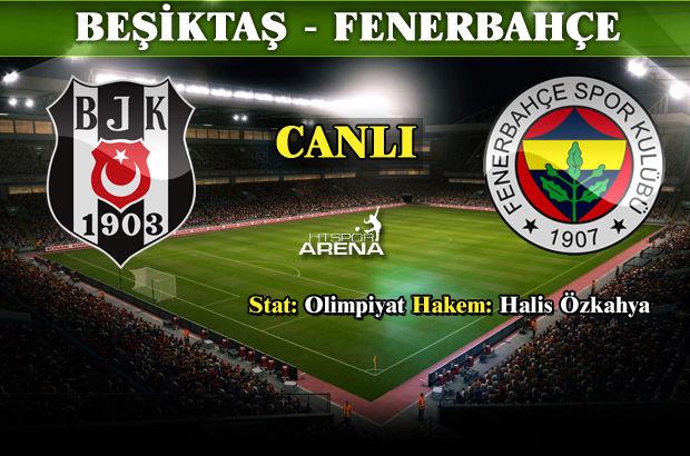 Beşiktaş: 3 - Fenerbahçe: 2 | MAÇ ÖZETİ