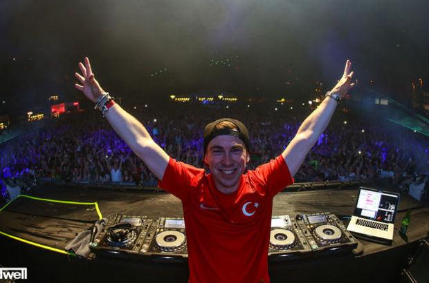 DJ Hardwell İstanbul'a hazır