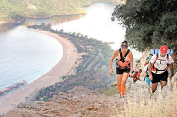 240 km'lik Likya Yolu Maratonu başladı