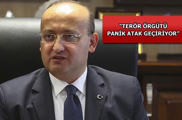 Akdoğan: Terör örgütü panik atak geçiriyor