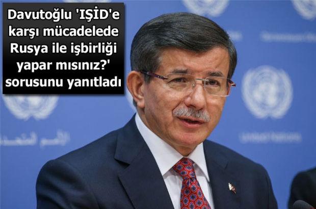 Başbakan Ahmet Davutoğlu ABD'de konuşuyor