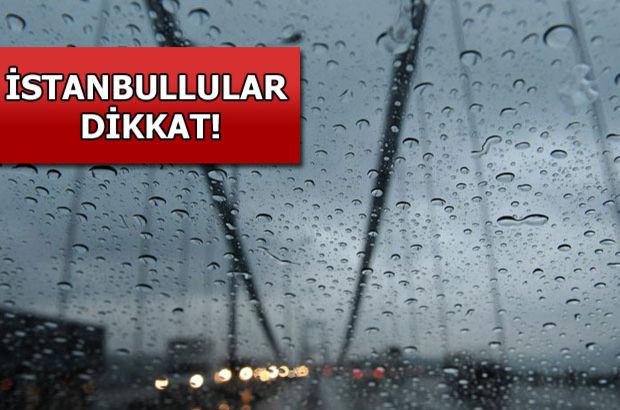 Marmara Bölgesi için kuvvetli yağış uyarısı!
