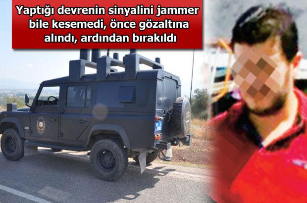 'Jammer'ın etkisiz kaldığı düzeneği yapan gence gözaltı