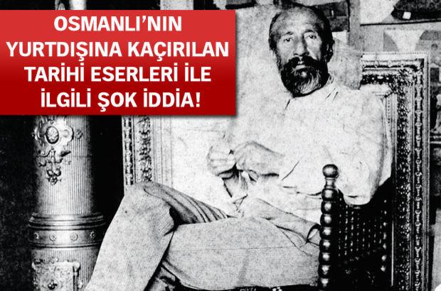 Osman Hamdi Bey'in, tablolarını satın alan yabancı devlet yetkililerine tarihi eserleri yurtdışına çıkarabilmeleri için kolaylık sağladığı iddia edild