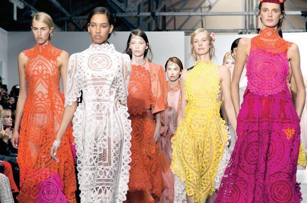 Londra ve Milano moda haftalarından