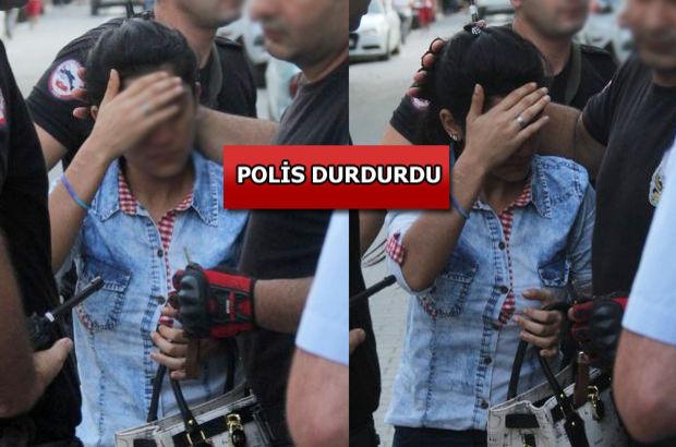 Adana'da genç kadın yan bakan şahsı bıçakladı