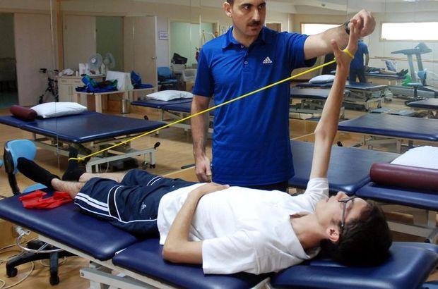 Fizik tedavi ile felçten kurtuldu!