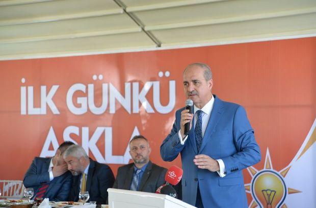 Numan Kurtulmuş: AK Parti tek başına yönetmeye devam edecek