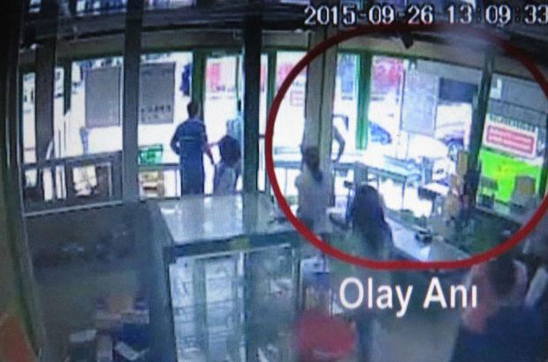 Sancaktepe'deki cinayet güvenlik kamerasında