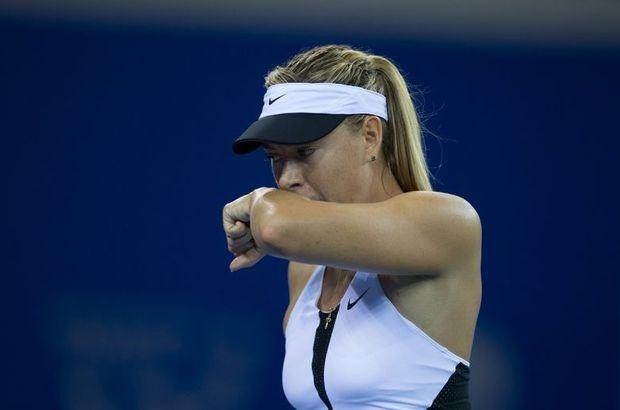 Sharapova yine sakatlandı