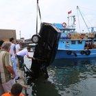 Kastamonu otomobil denize düştü