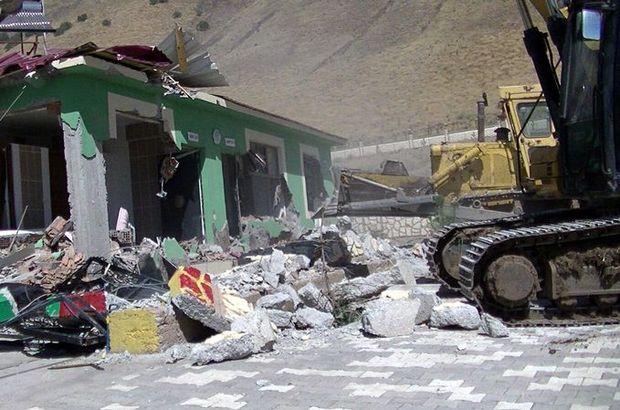 Muş Valiliği'nden Varto'da yıkılan binalarla ilgili açıklama