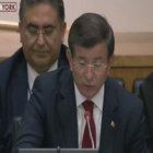 Başbakan Davutoğlu BM İnsani Zirvesi'nde konuştu