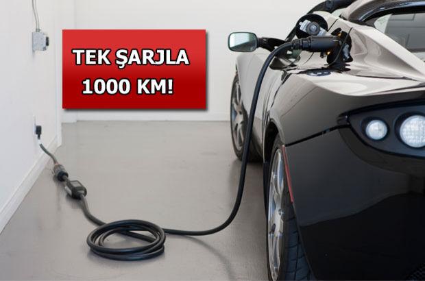 Tesla tek şarjla bin km giden elektrikli araba yapacak