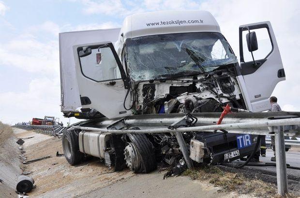 Amasya'da yaşanan kaza bir ailenin sonu oldu
