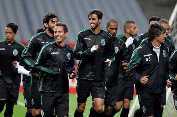 Sporting Lizbon, son çalışmasını tamamladı
