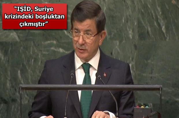 Başbakan Davutoğlu: Bu tiran halkını varil bombalarıyla öldürmektedir