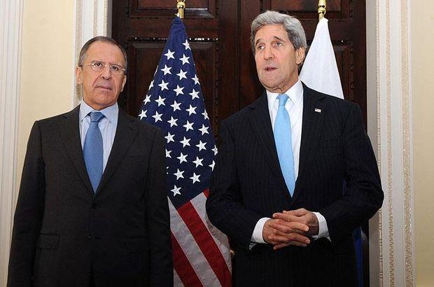 Kerry ve Lavrov BM'de Suriye'yi görüştü