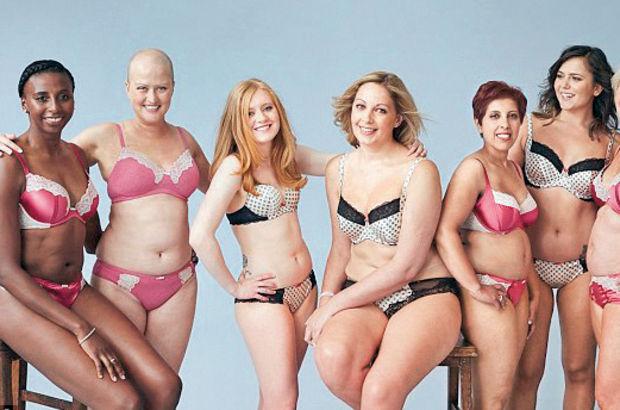 Meme kanserini yenen kadınlarla renkli tanıtım