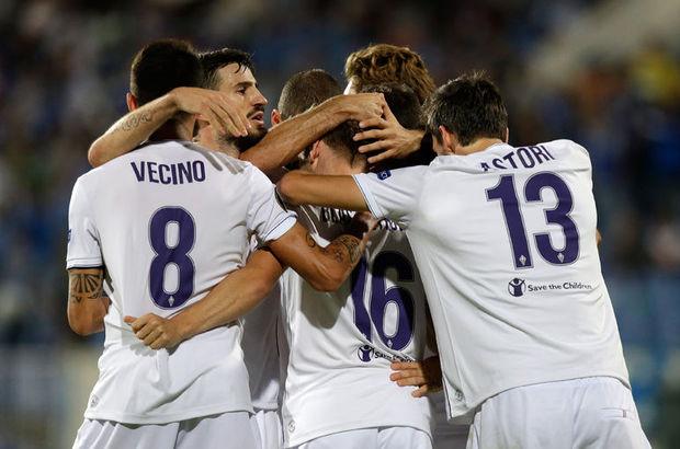 Serie A'da lider olan Fiorentina, ilk maçını kaybettiği I Grubu'nda Belenenses deplasmanında 4-0 galip geldi