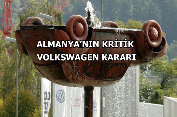 """""""Almanya için Volkswagen batamayacak kadar büyük"""""""