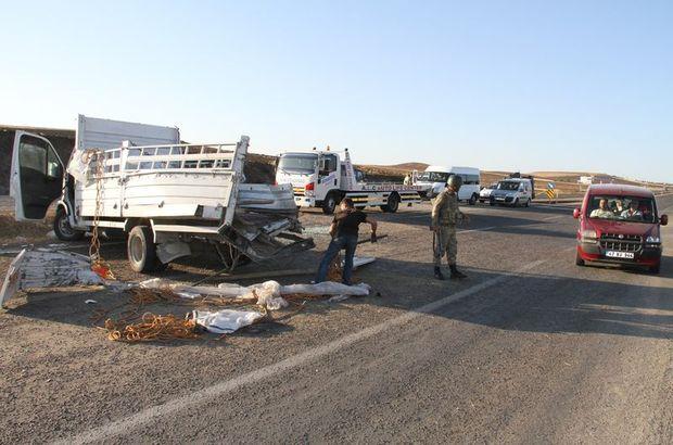 Zırhlı polis aracı kaza yaptı: 1 şehit, 11 yaralı