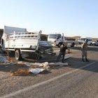 Diyarbakır'da zırhlı polis aracı kaza yaptı: 1 şehit, 11 yaralı