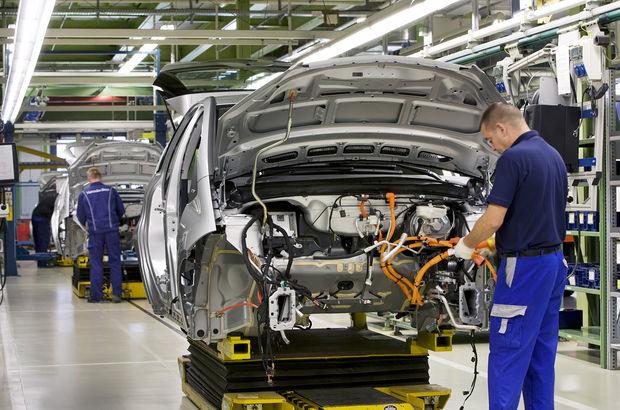 Otomotiv endüstrisi Eylül'de 1,8 milyar dolarlık ihracat yaptı