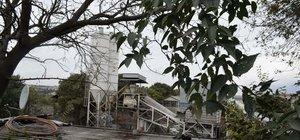 Tarihi Haliç Tersanesi'ne beton santrali...