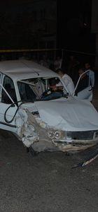 Polisten kaçarken kaza yapan otomobilden silah çıktı