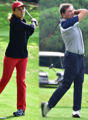 Golf tutkunları bir arada