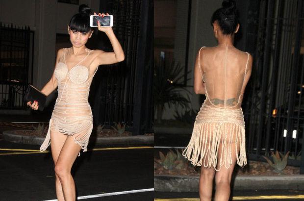 Bai Ling'in transparan kıyafeti