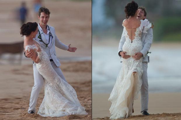 Ünlü şarkıcının kızı evlendi