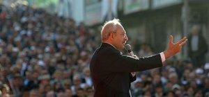 Kemal Kılıçdaroğlu, Zonguldak'ta konuştu