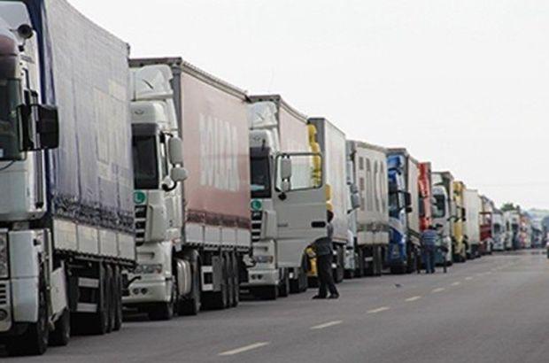 Doğu'ya taşımalar %75 düştü ve 5 bin kamyon kontak kapattı