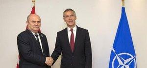 Dışişleri Bakanı Sinirlioğlu NATO Genel Sekreteri ile görüştü