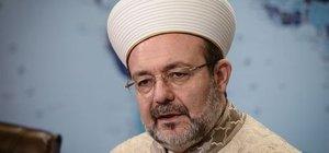 Diyanet İşleri Başkanı Görmez'den İran'ın iddiasına yanıt