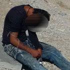Konya'da gündüz otoparkta uyuşturucu kullandı