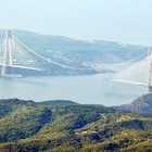 Antalya üçüncü köprüyü havadan fotoğrafladı