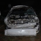 MHP'lileri taşıyan minibüs kaza yaptı