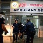 Başbakan'ın mitinginde görevli polisleri taşıyan midibüs kaza yaptı: 23 yaralı